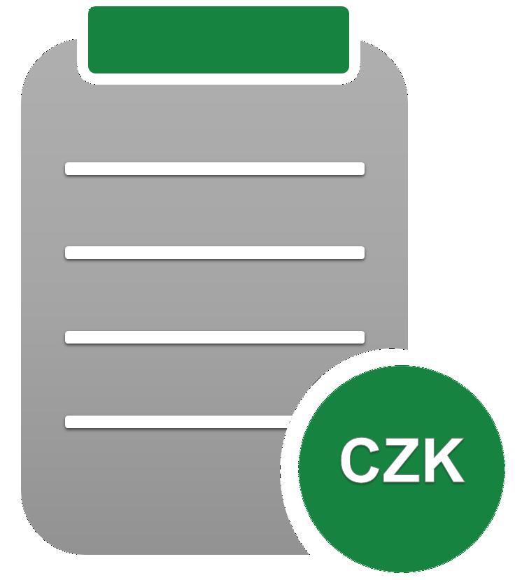 Symbol pro ceník služeb NejsemDlužník.cz